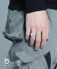 画像2: 【VIRGO】VIRGOwearworks×GARNI special pick ring (2)