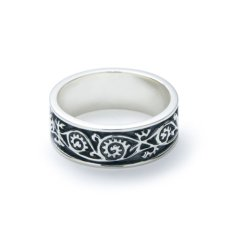 画像1: 【GARNI】Vine Pattern Ring   (1)