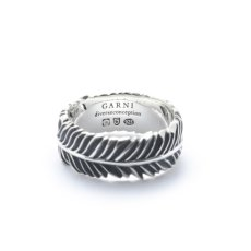 画像2: 【GARNI】Eagle Feather Ring - S (2)