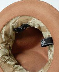 画像8: <10月発売・先行予約>【VIRGO】SPECIAL MELTON MOUNTAIN HAT (8)