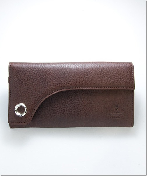 画像1: 【GARNI】'12 Flap Sign Long Wallet 財布  (1)