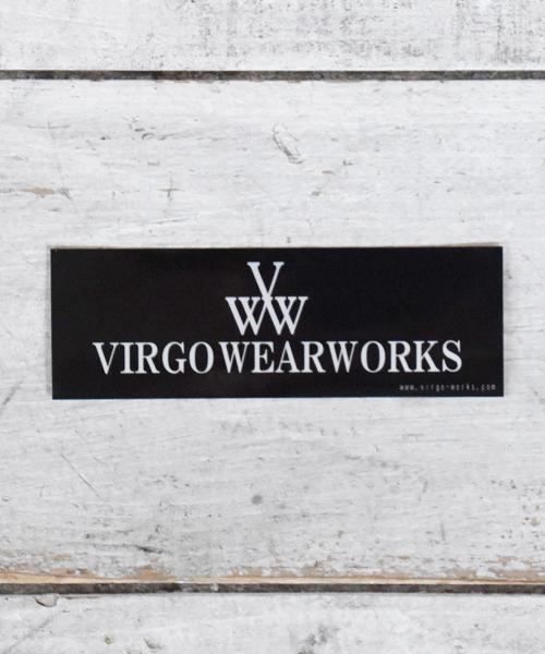 画像1:  【VIRGO】VIRGO WEARWORKS LOGO STICKER ロゴステッカー (1)