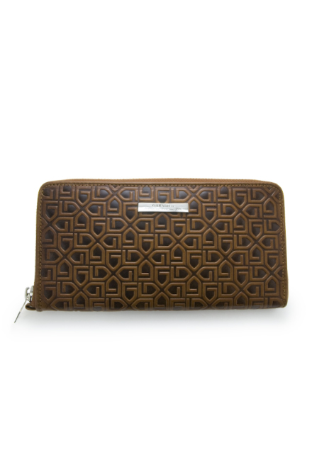 画像1: 【GARNI】G Pattern Zip Long Wallet 財布  (1)