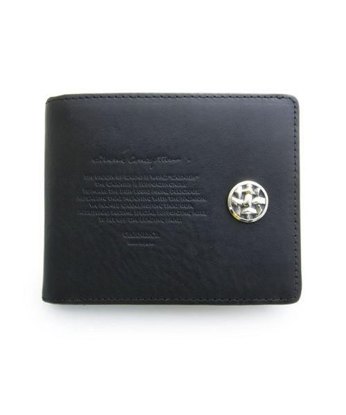 画像1: 【GARNI】Woven stamp fold wallet 財布  (1)