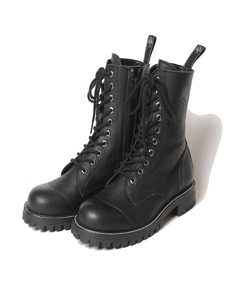 画像1: 【VIRGO】Militaria special boots【10】  10ホールレザーブーツ  (1)