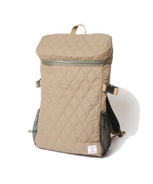 画像1: 【VIRGO】Military quilting square backpack バッグパック  (1)