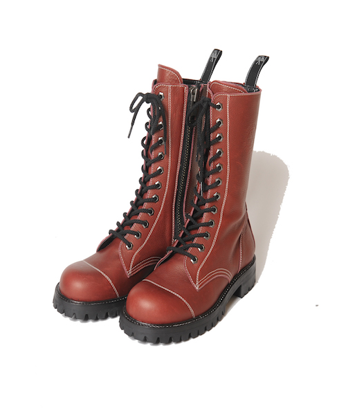 画像1: 【VIRGO】Militaria special boots【12】  12ホールレザーブーツ  (1)