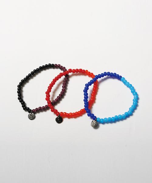 画像1: 【VIRGO】Perverse bracelet ビーズブレスレット (1)