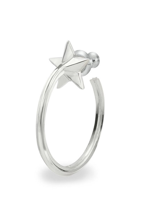 画像1: 【GARNI】Star Ring Pierce   (1)