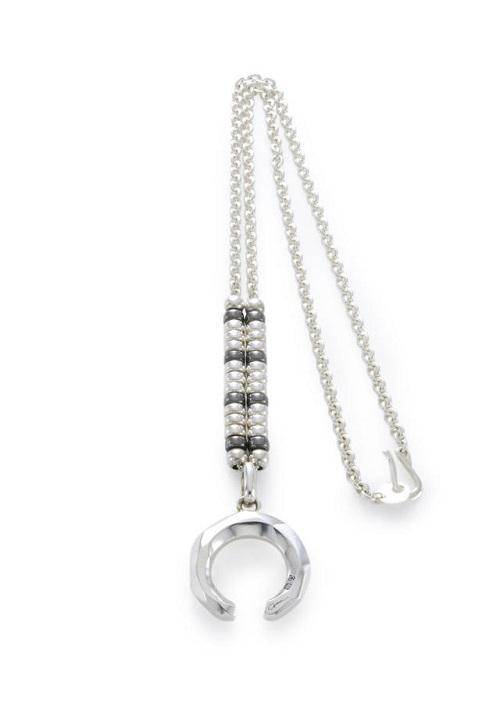 画像1:  【GARNI】Crockery Amulet Pendant - M  (1)