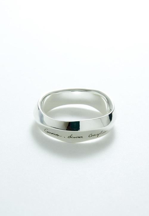 画像1: 【GARNI】Wave Ring - L   (1)