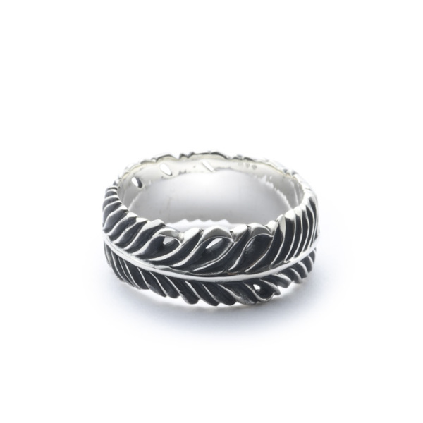 画像1: 【GARNI】Eagle Feather Ring - S (1)
