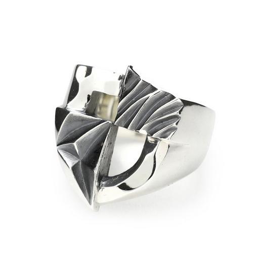 画像1: 【GARNI】Union Shield Ring (1)