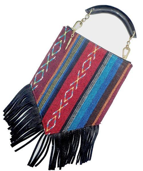 画像1: 【GARA】NEPAL TRIBE BAG  (1)