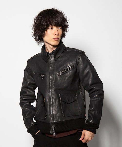 画像1: 【VIRGO】VGW FORCE SPECIAL LEATHER JKT (1)