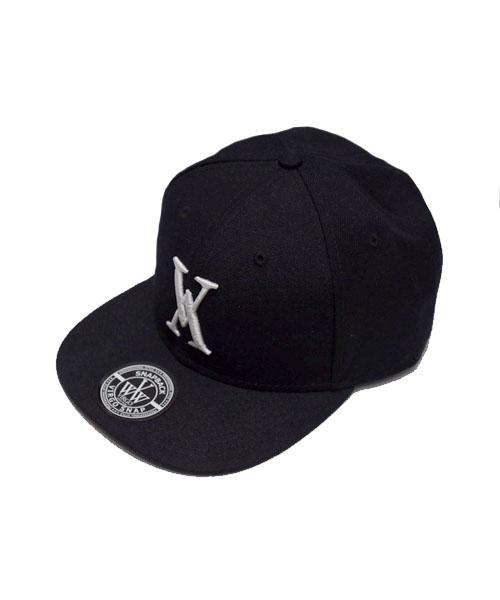 画像1: ※再入荷【VIRGO】Vg logo cap WHITE刺繍 / ベースボール キャップ (1)