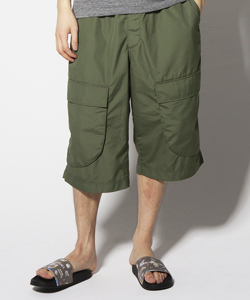 画像1: 【VIRGO】LOOSE BIG CARGO SHORTS (1)