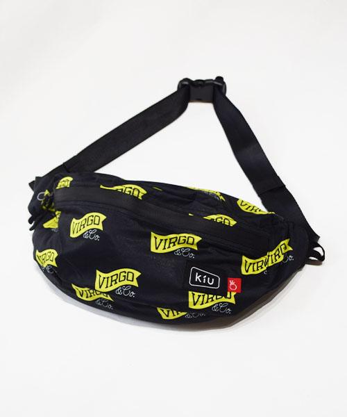 画像1: VIRGOwearworks × KiU WATERPROOF BODY BAG (1)