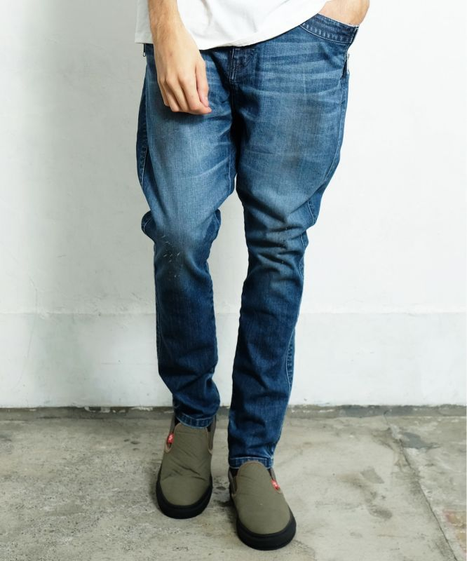 画像1: <再入荷>【女神織DENIMES×VIRGOwearworks】ZIP PKT DENIM VINTAGE  (1)
