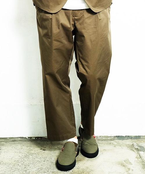 画像1: 【VIRGO】COMFY TAILORED PANTS  (1)