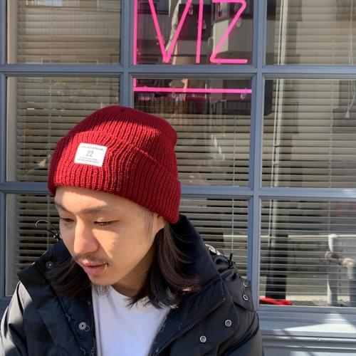 画像1: <直営店限定>【INDEPENDENCE】SOLID KNIT CAP (1)