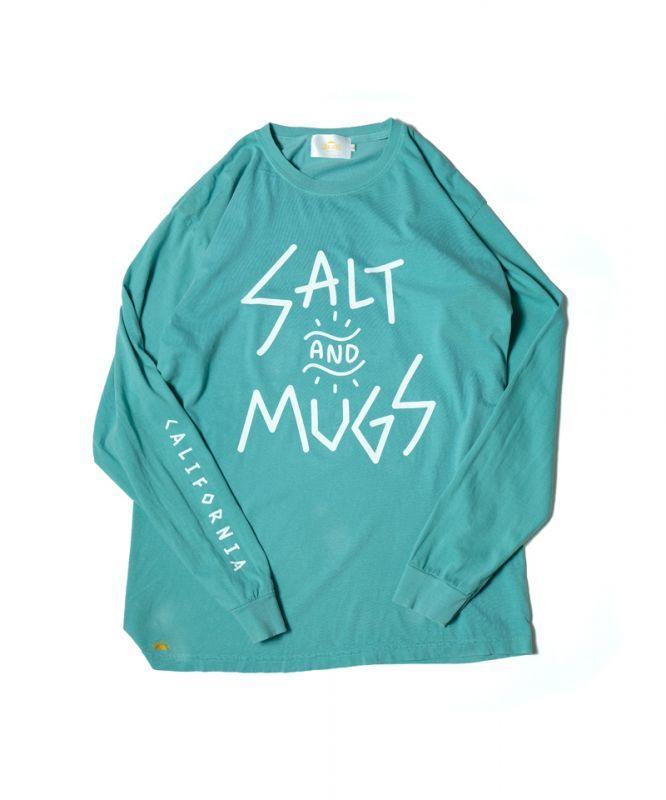 画像1:  【SALT&MUGS】Sign Logo Ls (1)