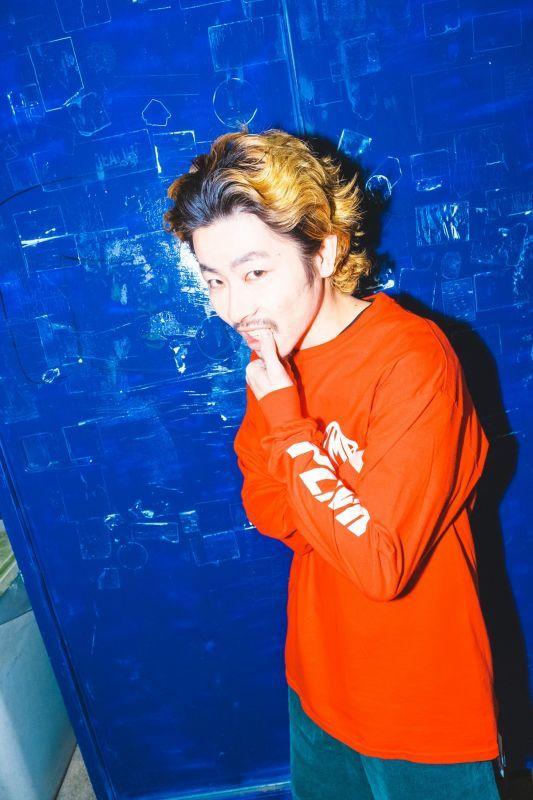 画像1:  【PLMP】MARK LOGO LS TEE / RED (1)