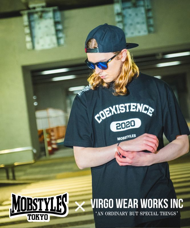 画像1: 【MOBSTYLES×VIRGOwearworks】MOBxVGW COEXISTENCE TEE (1)
