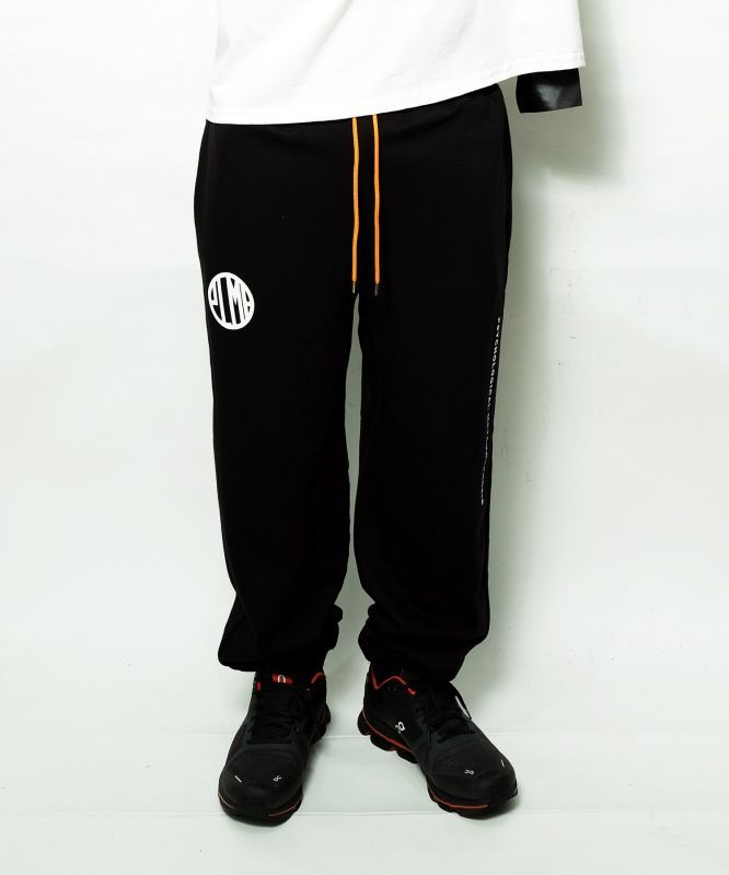 画像1:  【PLMP】MARK SWEAT PANTS / BLACK (1)