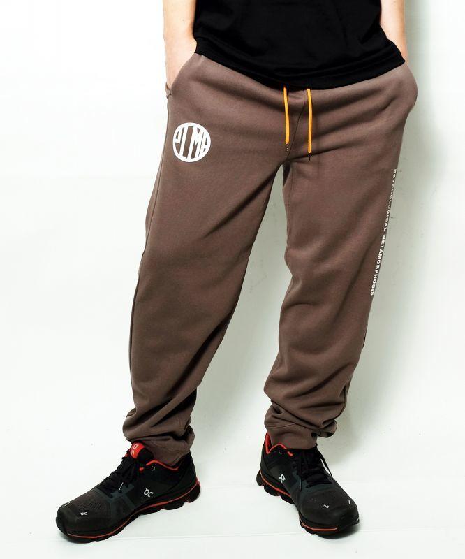 画像1: 【PLMP】MARK SWEAT PANTS / CHARCOAL (1)