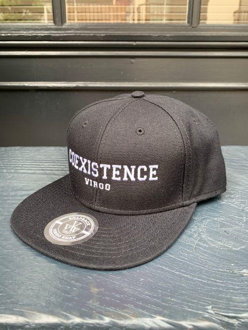 画像1: <再入荷>【VIRGO】COEXISTENCE CAP WHITE刺繍  [直営店限定]  (1)