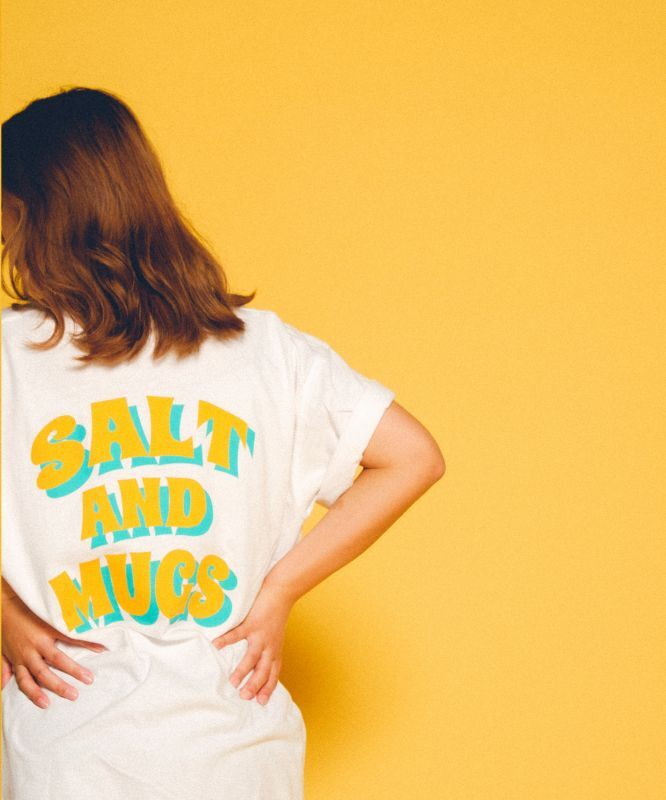 画像1: 〈再入荷〉【SALT&MUGS】SUN CAL TEE (1)