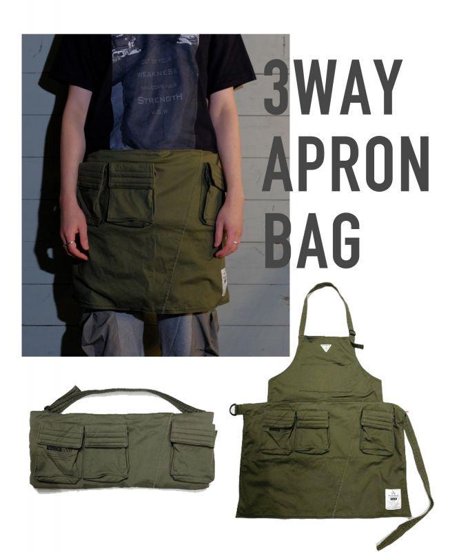 画像1: 3WAY APRON BAG (1)