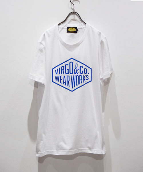 画像1: 【VIRGO】Diamond logo Tee INDver プリントTシャツ  (1)